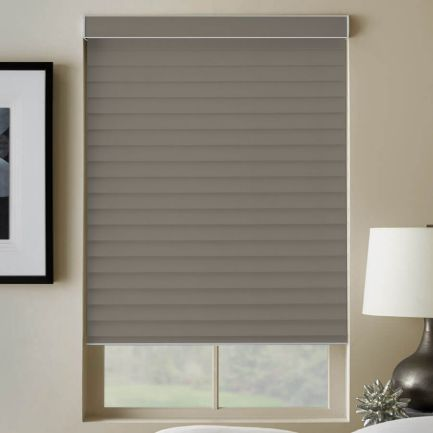 Toiles diaphanes horizontales 3 po de luxe à filtre de lumière