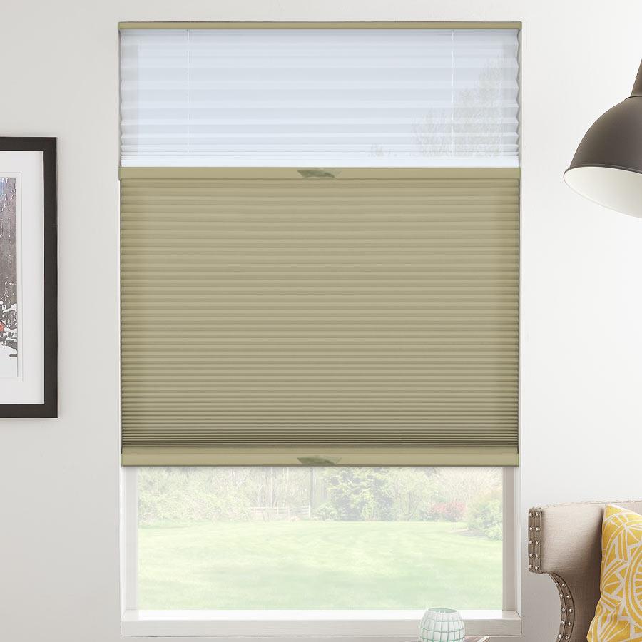 Tri-stores filtres de lumière à cellule double décorateur de 1/2 po 1117