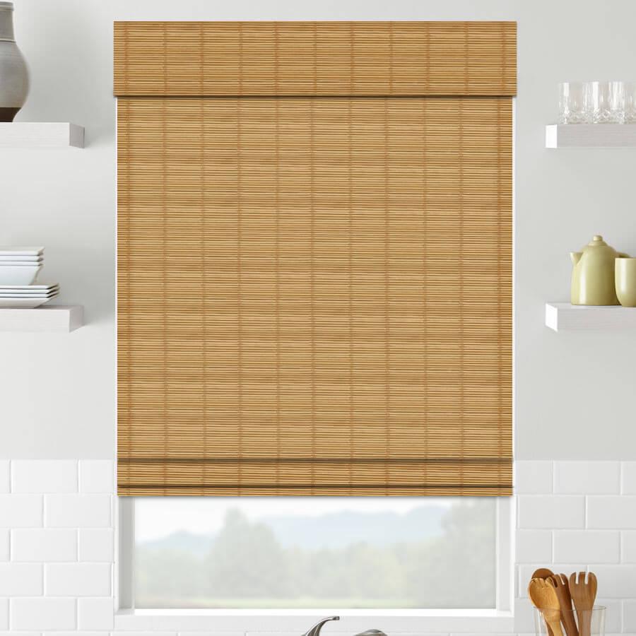 Value Cordless Woven Wood/Bamboo Shades 1253