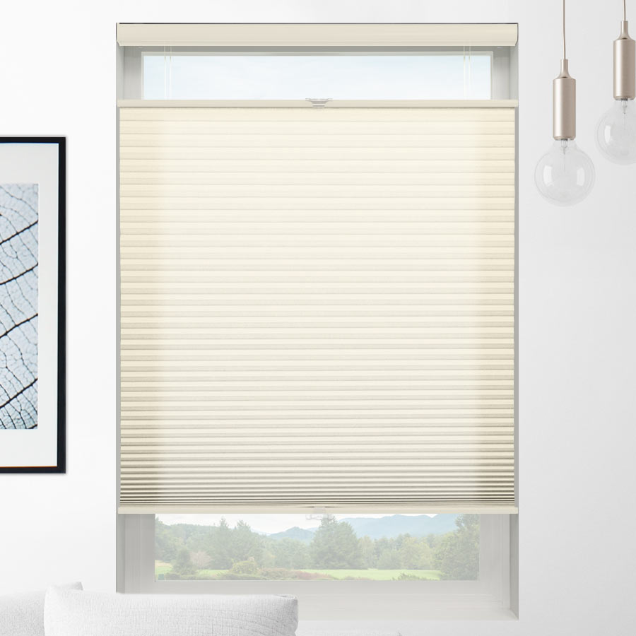 Value Light Filtering Cordless Top Down Bottom Up Honeycomb Shades 1241