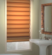 bathroom window treatments