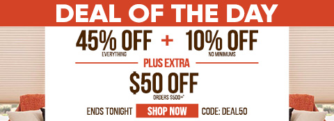 Current sale at Select Blinds Canada
