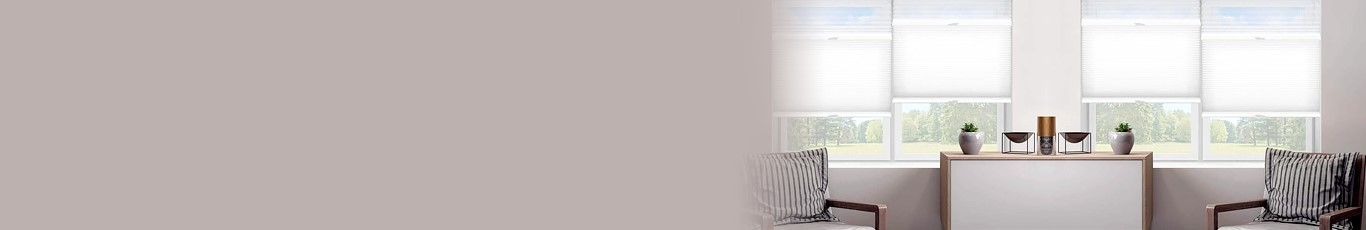 Trishade Cellular Shades provide three blinds in one with a top-down bottom-up lift system.