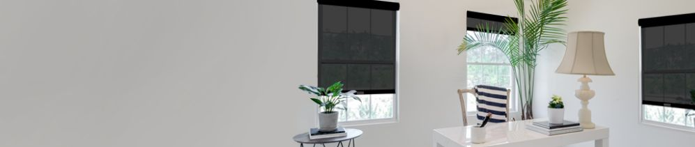 Solar Blinds & Sun Shades preserve your view to the outside while filtering out heat, UV rays & glare.