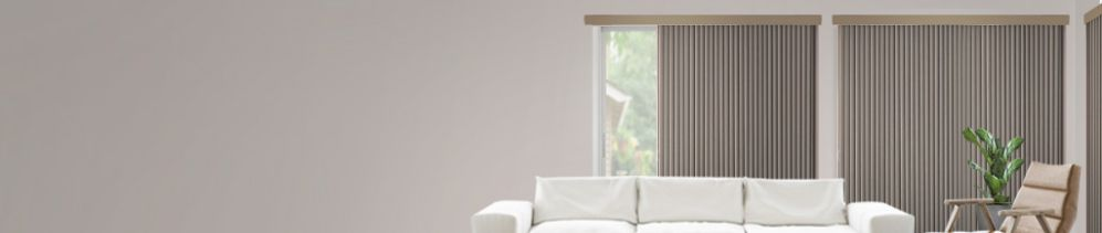 Vertical Blinds are the perfect choice for sliding glass doors, french doors and extra-wide windows.